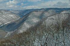 Grandview, WV  ~ winter 2011 by Rick Burgess