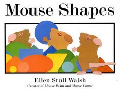 Mouse shape book and activity