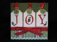 christmas cards using close to my heart cricut cartridges | card stock are all close to my heart the stamps are a close to my ...