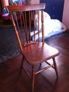 Consegui 4 de estas bellezas! sillas WINDSOR! proximamente restauradas....