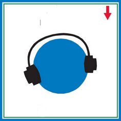 Fone de ouvido ajuda acalmar com música.