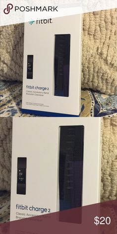 Fitbit HR Charge 2 Classic Black Band This band was purchased directly from Fitbit online. It it a Large and fits the Charge 2. I only wore it a few times before I ordered a smaller size because I had lost weight. Fitbit Accessories Watches