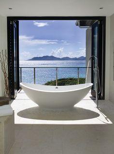 Kamique - tropical - Bathroom - Other Metro - Lee H. Skolnick Architecture & Design Partnership