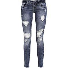 1bcac8b318942 Jeansy damskie Only - Zalando Jeans Fit, Skinny Jeans, Akcesoria, Dark Blue,
