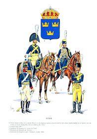MINIATURAS MILITARES POR ALFONS CÀNOVAS: UNIFORMES ,del ejercito de SUECIA,en las guerras Napoleonicas, fuente = Ediciones Q