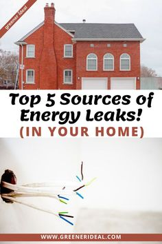 Conserving energy helps you save money on your heating & cooling bills, also it makes your home more comfortable to live in! Nowadays, energy-efficient homes have become a common trend. To ensure your house isn't wasting any power, you should check for leaks to keep it and your money from going out the window. If you want to identify any sources of leaks in your home, here are some of the common household features that waste energy. #ecohome #home #household #ecofriendly #energy #energyefficient
