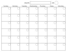 Printable blank calendar template organizi free printable calendars monthly calendar on pictures solutioingenieria Choice Image