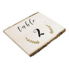#wood - #Wood Rustic Table Numbers Wood Panel