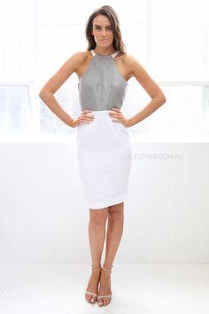 asilio buried secrets dress - grey