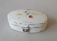 Brotkasten Blech Puppenküche Küche Puppenstube Brotbehälter Bread Box in Antiquitäten & Kunst, Antikspielzeug, Puppen & Zubehör | eBay