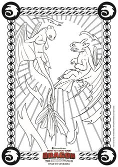 drachenzähmen leicht gemacht malvorlagen | lustige malvorlagen, dragons ausmalbilder, ausmalen