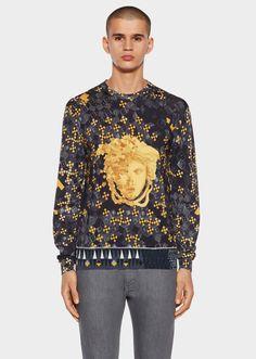 17c445375c7a Versace Baroque Crewneck Knit for Men