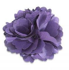 Rosette Purple Hair Clip