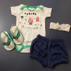 Para nossas Babys princesas , conjunto de body com faixa e balonet jeans e sandália dedinhos de fora flores com pérolas para finalizar o look!  Gostou?  Venha conferir em:   ✅ Conjunto - www.purezababy.com.br/conjunto-body-ferias-com-balonet-jeans-e-faixa   ✅ Sandália - www.purezababy.com.br/sandalia-babyi-verde-flores   #lookinhobypurezababy #gravida #love #maternidade #modainfantil #instattclub #lojavirtual #gravidez #purezababy #instakids #instamom #lojavirtualinfantil #sapatinhomenina