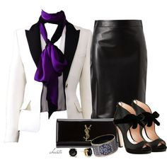 Office Look, created by christa72 on Polyvore
