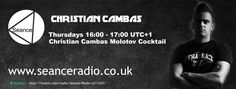 Tune in to the Molotov Cocktail show on Seance Radio with Christian Cambas Thursdays 16:00 UTC+1 #Techno