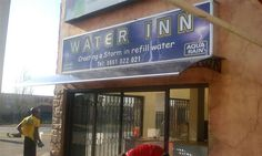 Water Inn Monument Road Kempton Park with AWA Awnings