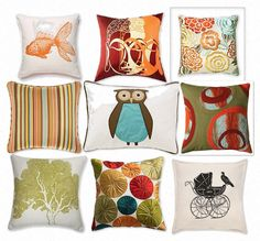 Finishing Touch Interiors: Cozy Cushions