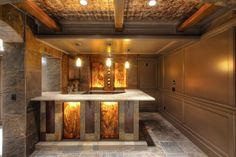 Today we are showcasing here 15 Outstanding Rustic Basement Designs for your inspiration. Enjoy!