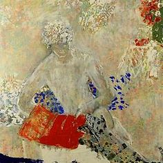 """""""Readings"""", an exhibition by Lebanese painter Fatima El Hajj,"""