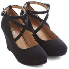 Top Guy International Fabled Sable Wedge in Black