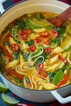 Thai Coconut Curry Chicken Soup - Cooking Classy