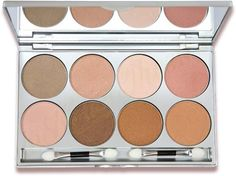 Kryolan Glamour Glow 8 color Palette 09078