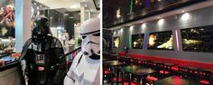 Jedi's Burger and Grill, le tout premier resto' Star Wars a ouvert aujourd'hui !! Qui veut un burger Stormtrooper ?