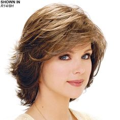 Once your hair is nice and safely tucked away, you're ready to apply your new wig! Starting at the front of your wig, place the front of the wig against your forehead and slide the wig back and down over the back of your head ? Short Hairstyles For Thick Hair, Haircut For Thick Hair, Short Hair Cuts, Bob Hairstyles, Pixie Cuts, Thin Hair, Pretty Hairstyles, Haircuts, Medium Hair Styles