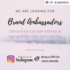 Repost: Join us as a brand ambassador today. Open to all ages. Brand Ambassador, Join, How To Apply, Quotes, Instagram, Quotations, Quote, Manager Quotes, Qoutes