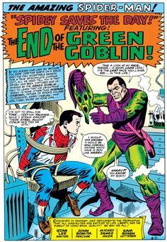 Splash page from Amazing Spider-Man #40