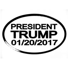 President Trump Decal Sticker 2017 Car Truck for Ford Chevy Dodge Vw Window Bumper
