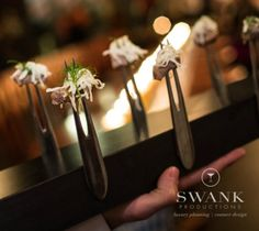 Top 8 Catering Trends - Innovative Food Presentation Using Magnets, Swank Productions - mazelmoments.com