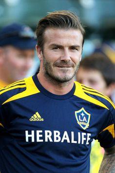 Signature Hairstyles David Beckham Hair Pinterest - David beckham hairstyle la galaxy