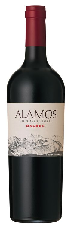 Volle Argentijnse rode wijn. http://www.wijnplaza.be/alamos-malbec-mendoza-argentinie.html