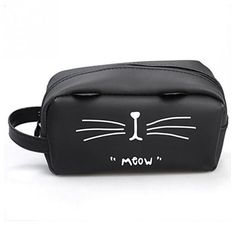 Grandes Trousses Chat Cat Makeup, Beauty Case, Travel Organization, Toiletry Bag, Makeup Cosmetics, Cosmetic Bag, Sweaters For Women, Pouch, Kawaii
