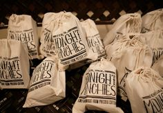 Midnight Munchies Bag by Pressed Cotton for the engage!13 Biltmore welcome party // Photo by Allan Zepeda