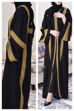 Niqab Fashion, Muslim Fashion, Fashion Killa, Love Fashion, Fashion Dresses, Burqa Designs, Abaya Designs, Hijab Style, Muslim Dress