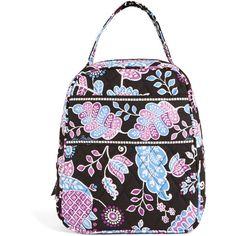 Vera Bradley Lunch Bunch Bag in Alpine Floral ( 24) ❤ liked on Polyvore  featuring bd4b6ffaf88ec
