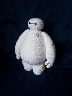 Ravelry: Project Gallery for Baymax Big hero 6 pattern by Judit Guillen Baymax, Crochet Amigurumi Free Patterns, Crochet Dolls, Crochet Yarn, Kawaii, Crochet Disney, Crochet Baby Cocoon, Knooking, Big Hero 6