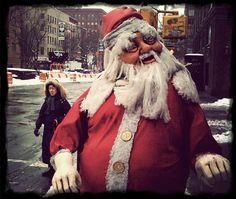 Top 10 Scary Santas