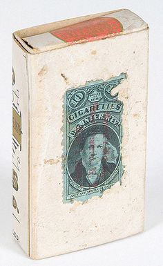 1888 Old Judge Cigarette Box