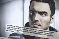 Mass Effect Headcannon