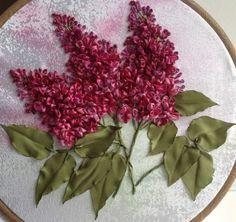 Lila.   realistic brilliant coloured lilacs