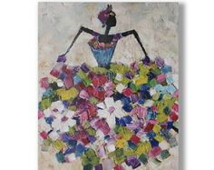 Impresión de Giclee de lámina pintura arte en lienzo moderno contemporáneo Arte PARED arte Home decoración mural de arte abstracto de la lona