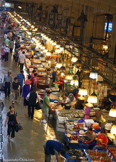 Seoul, South Korea markets