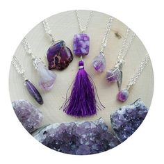 Love all of these purples!