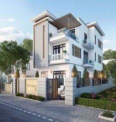 Creative Contemporary Design Ideas For Home Exterior Contemporary Stairs, Contemporary Landscape, Contemporary Architecture, Contemporary Design, Contemporary Furniture, Contemporary Office, Contemporary Chandelier, Landscape Design, Modern Exterior House Designs
