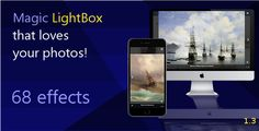 Magic LightBox - jQuery Plugin . This magic jQuery Plugin is for everyone who wants to create something beautiful and