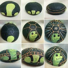 Let's draw a funny turtle